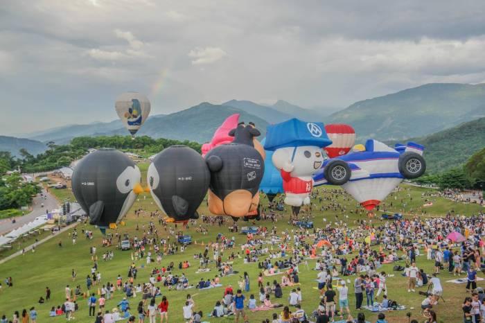 熱氣球空中導覽