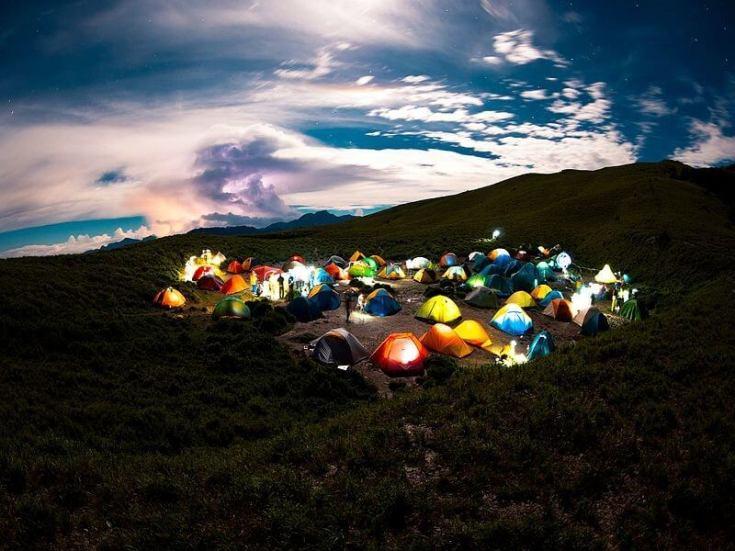 合歡山 小溪營地