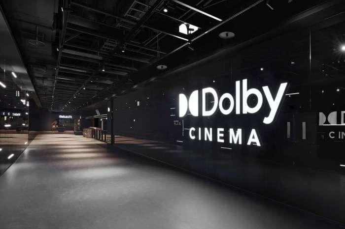 桃園新光影城5樓Dolby杜比廳入口