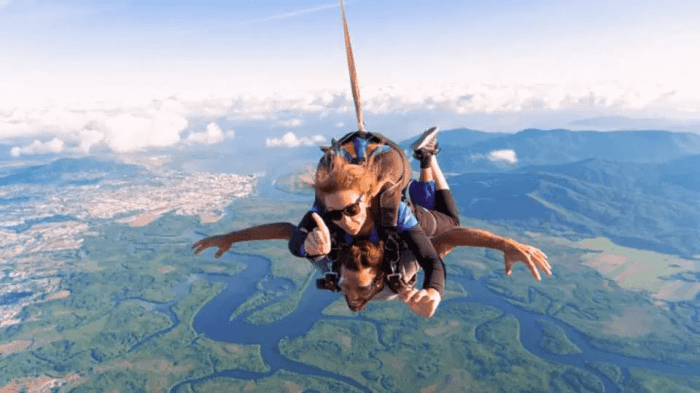 澳洲凱恩斯跳傘區