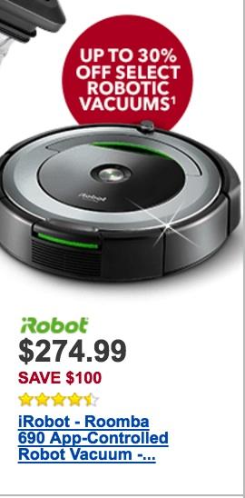 iRobot Roomba Black Friday 2019  Cyber Monday Deals