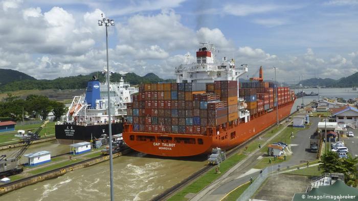 Mudanças Climáticas Ameaçam Canal Do Panamá