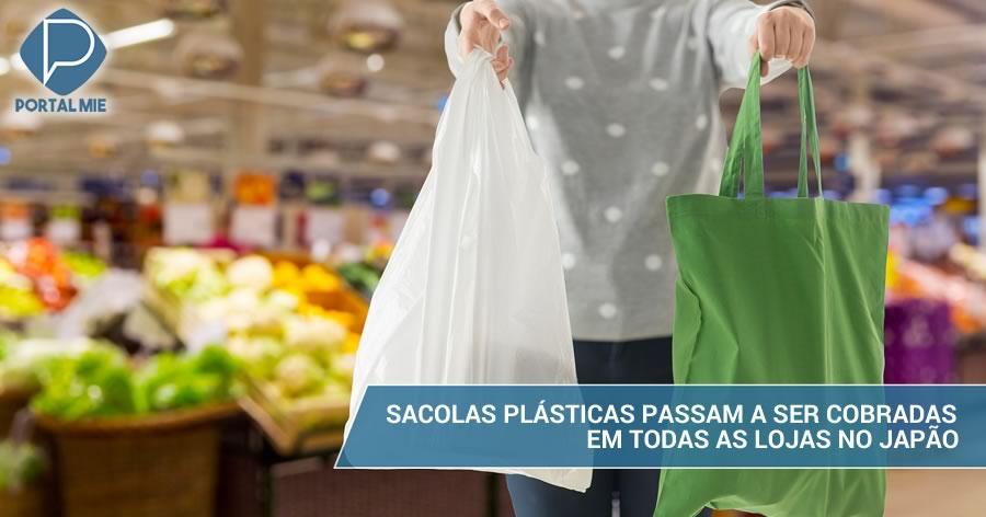 Lojas No Japão Passam A Cobrar Pelas Sacolas Plásticas De Compras