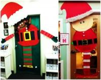 Door Christmas Decoration Elf | www.indiepedia.org