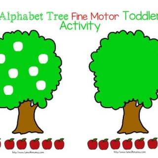 Apple Tree Cut and Paste Activity