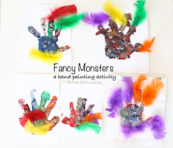 Finger Painting Ideas For Toddlers And Preschoolers
