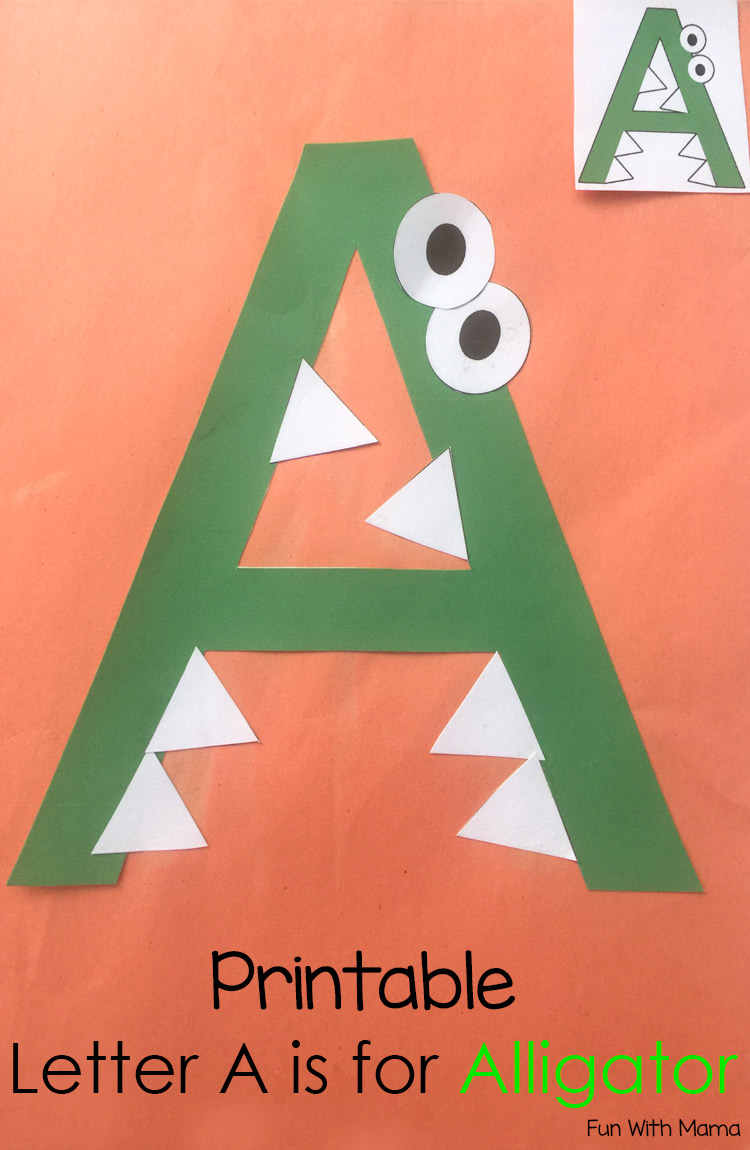 Printable Letter A Crafts And Activities