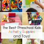Best Preschool Kids Activity Supplies And Toys Fun With Mama