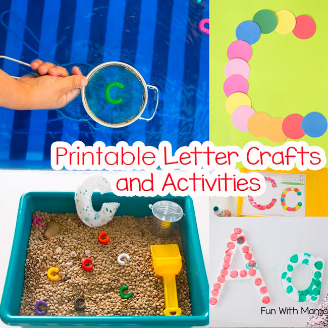 Printable Alphabet Letter Crafts