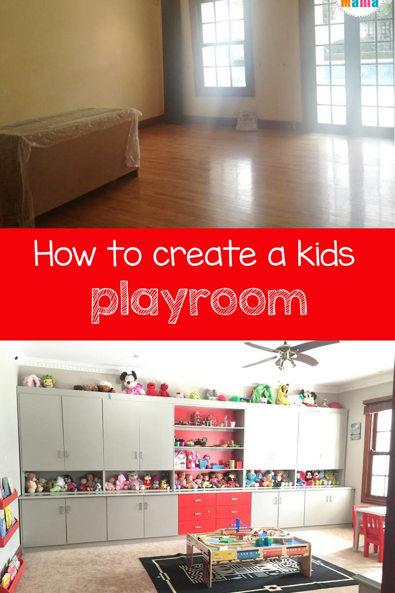 how to create a kids playroom