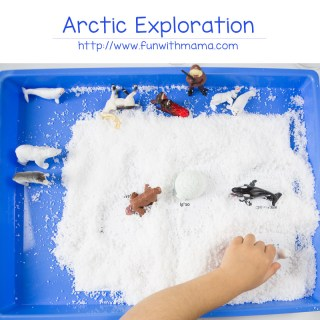 Kids Snow Hunt and Sensory Exploration