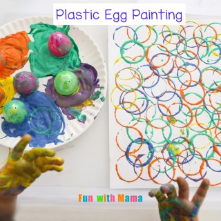Plastic Egg Painting