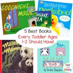 Best Books For Toddlers Ages 1-2