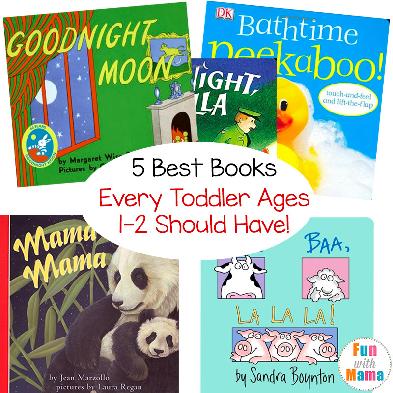 best books for ages 1 2 years old