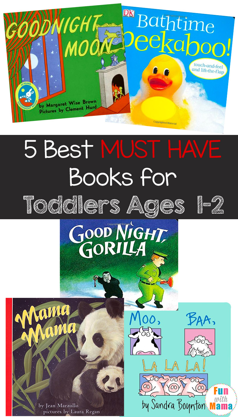 Best toddler books for a 1 and 2 year old. Boys and girls will love these fun books filled with learning ideas and cuddles with Mom!