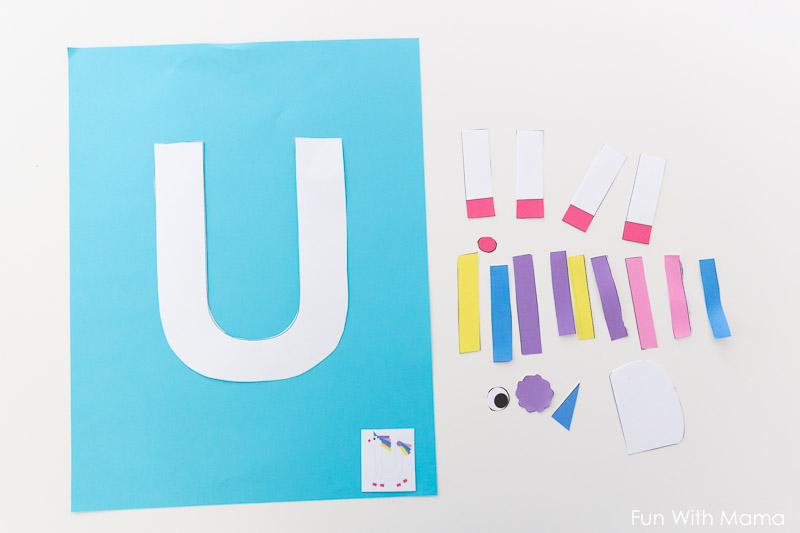 letter u crafts for preschoolers