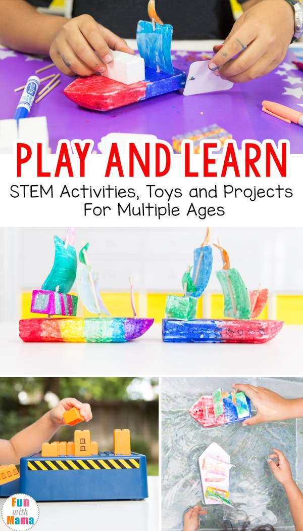 Play And Learn - Stem Activities Toys Multiple Ages
