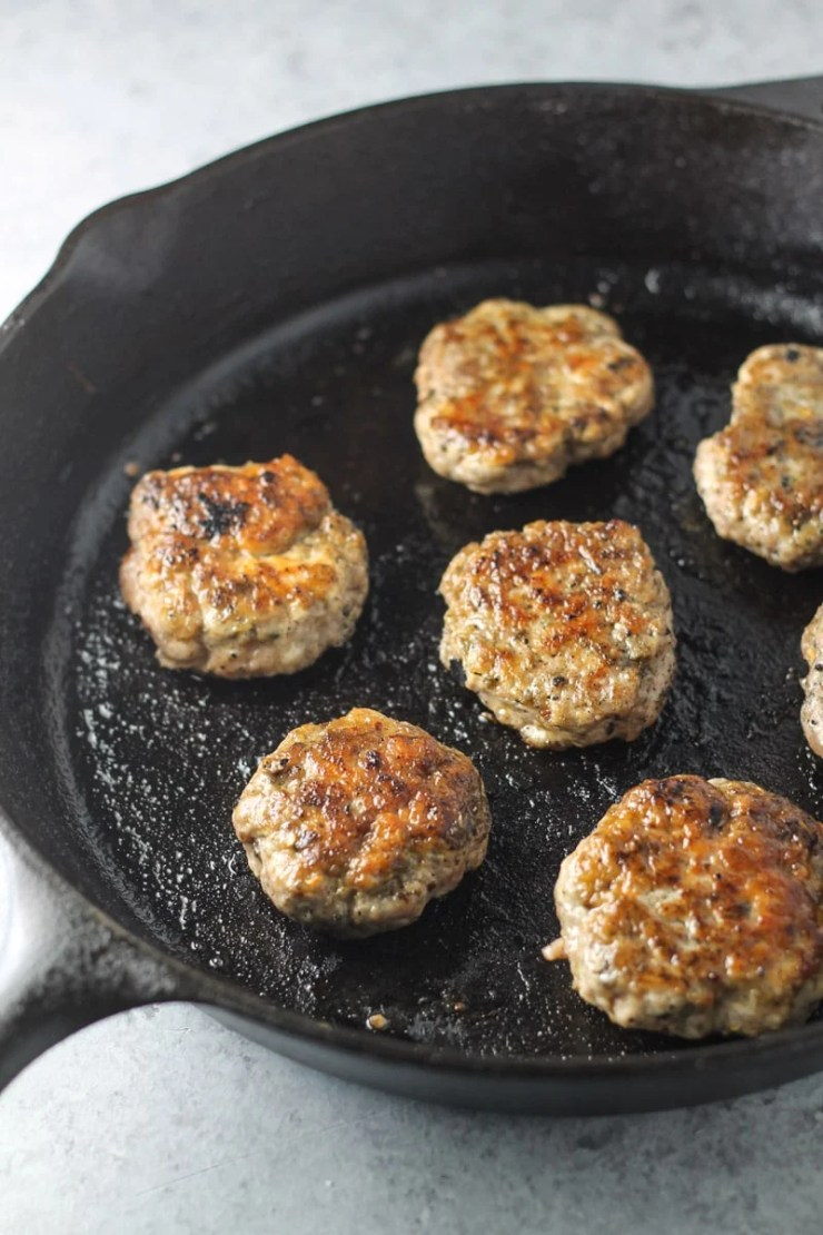 This Low Fodmap Breakfast Sausage recipe offers a classic morning staple without the garlic or onion powder!