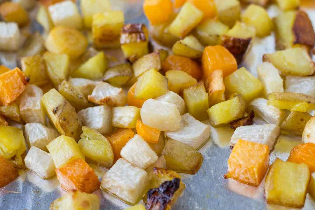 Low Fodmap Roasted Root Veggies