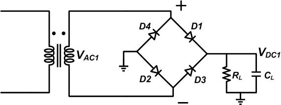 Troubleshooting a diode bridge rectifier