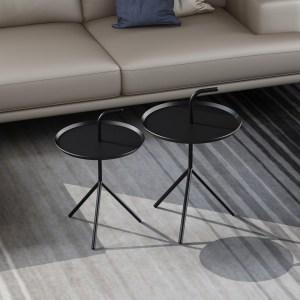 china new design modern small metal tea table iron art creative side table simple sofa corner bedside table coffee table iron frame supplier-furbyme (1)