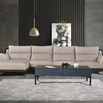 jxf3128 China Modern Luxury Design High End Living Room Furniture Leather Sofa