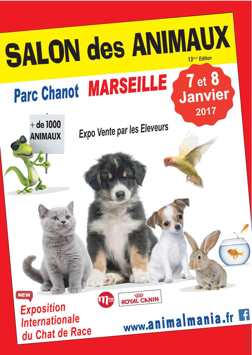 Salon Animal Mania Marseille le 07 et 08 janvier 2017