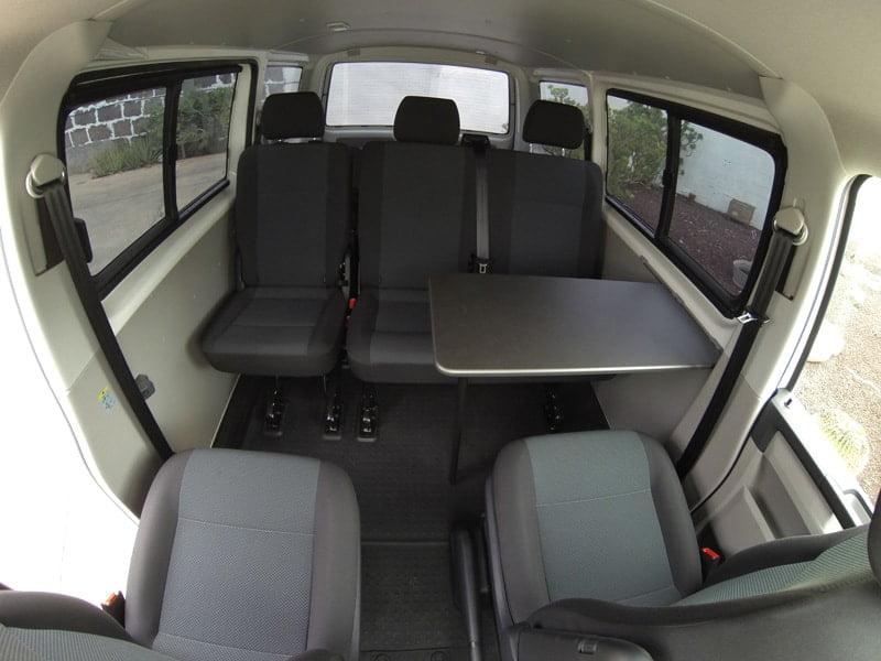 Mesa delantera para furgonetas  Volkswagen Camper