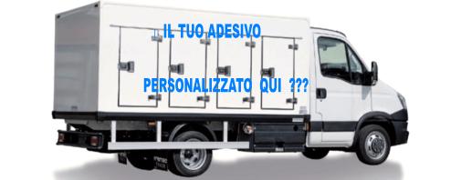 Adesivi decori furgoni