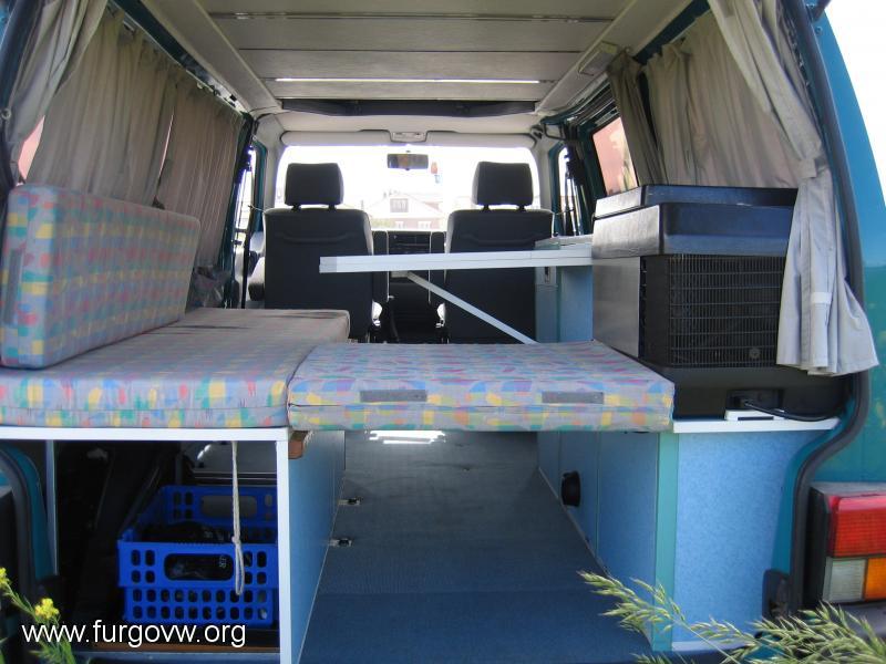 vendo interior completo vw t4 transporter
