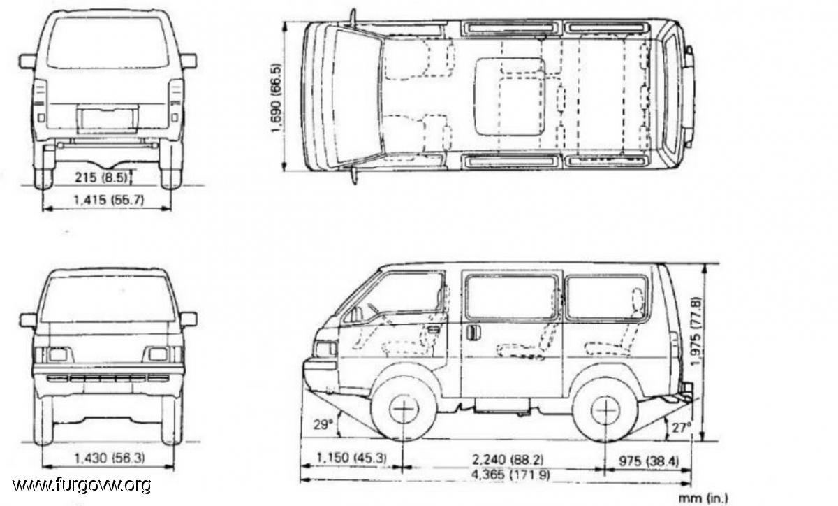 Club Delica: Mitsubishi L-300 y Space Gear (L-400)