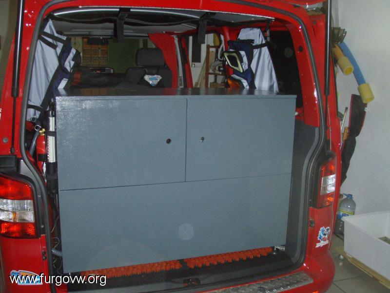 Mueble cocina y almacenaje VW T5