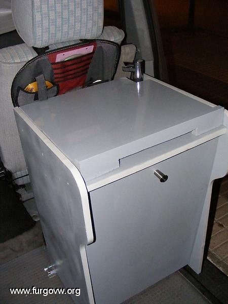 Mueble fregadero y cocina VW T4 multivan