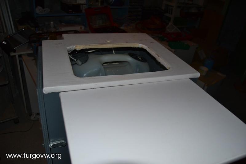 Mueble cocinafregaderoarmario VW T5 Transporter