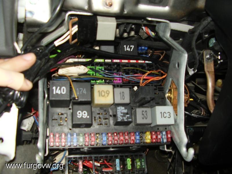 98 Vw Golf Fuse Box Diagram Reparar Interruptor Avisador Luces Vw Califronia T4