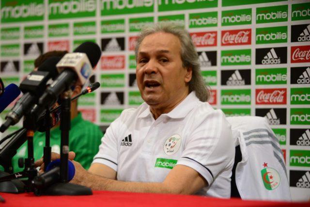 Madjer sélectionneur de l'Algerie