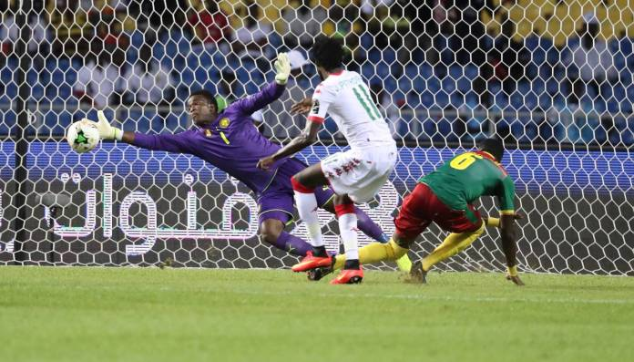 Ondoa avec le Cameroun