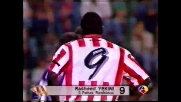 Yekini au Sporting Gijon