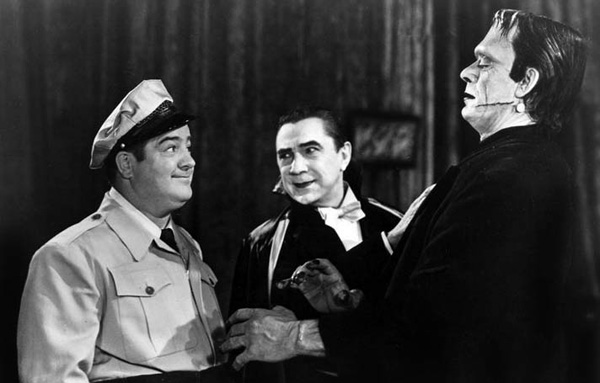Image result for abbott and costello meet frankenstein