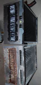Dismantling of Primary Cell Inlet panel, Coupling box, Cold spot baffle & Secondary Condensing Heat Exchanger