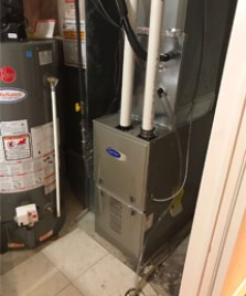 Carrier Furnace Installation