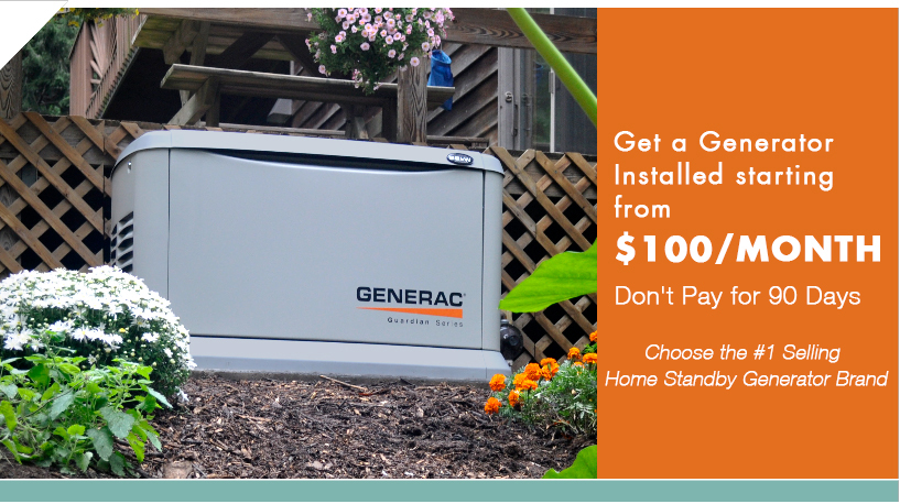 Generac Whole Home Backup Generator