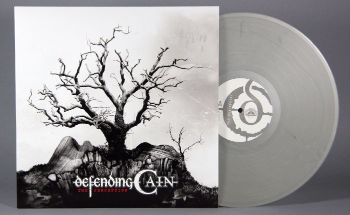 "Defending Cain ""The Perception"" 12"" Silver Vinyl LP"