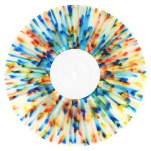 Splatter Effect Vinyl Records