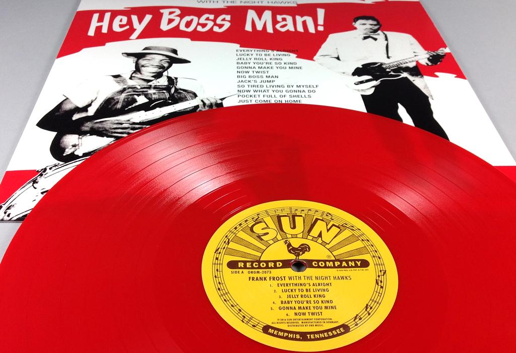 Hey Boss Man! – 12″