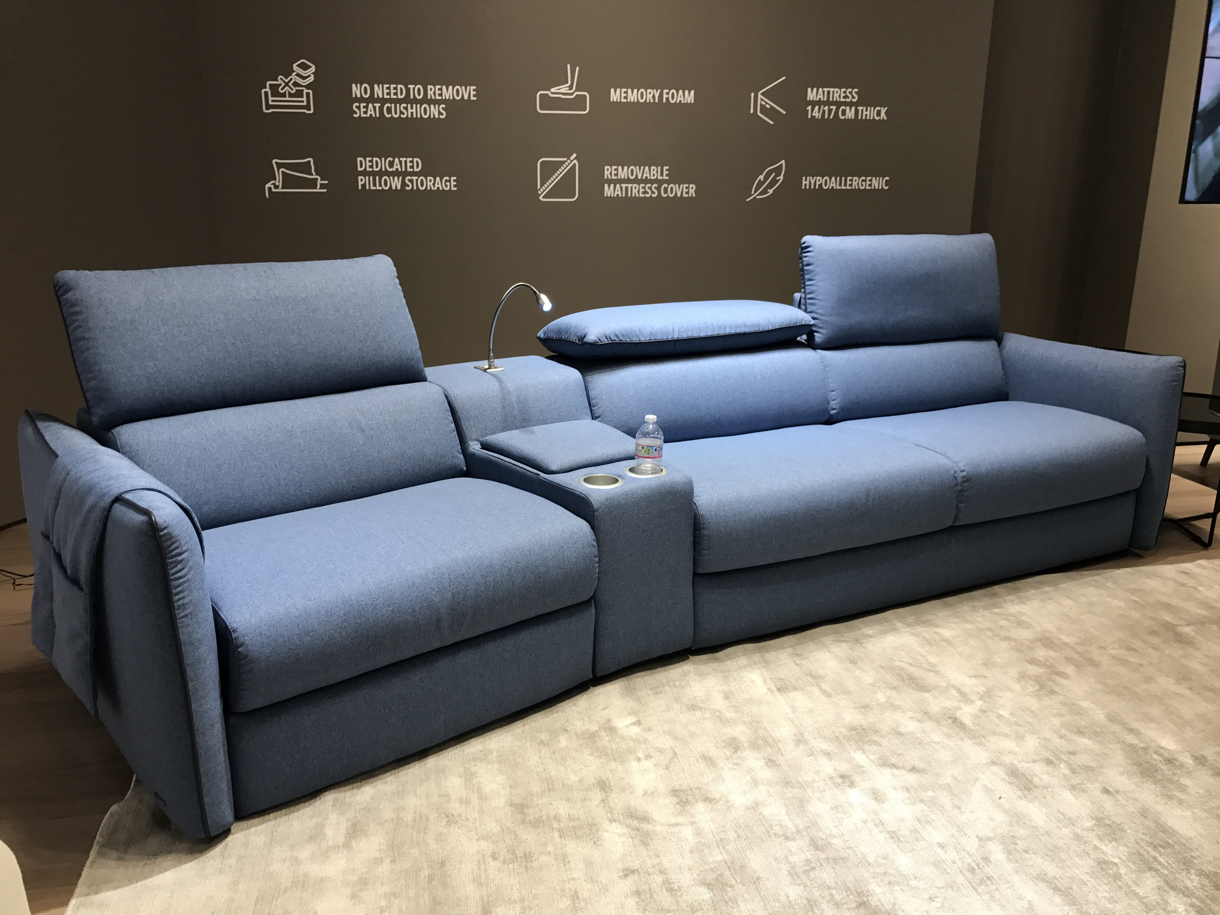 home cinema sofa seating uk wayfair sectional bed natuzzi b995 tullio or comfort