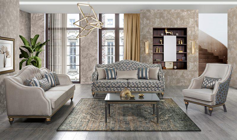 Sofa Klasik Mewah Baroc Salon