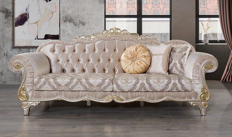 Kursi Sofa Ruang Tamu Mewah Klasik Salkim