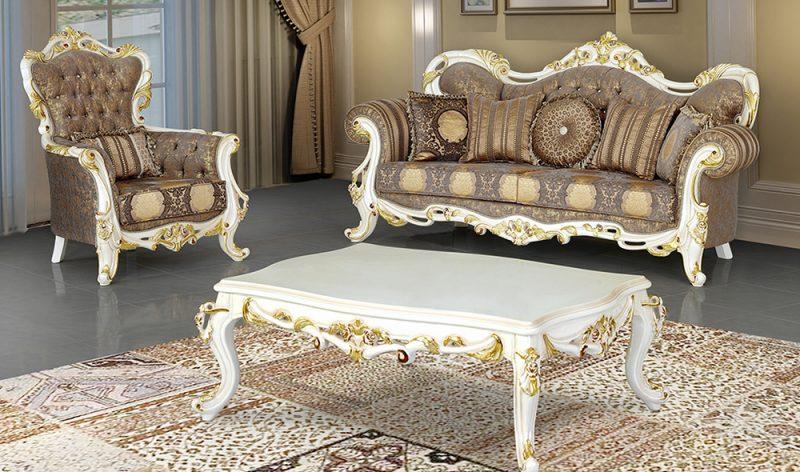 Sofa Mewah Ruang Keluarga Klasik Ruya -2