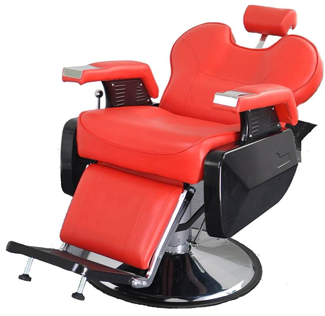 ez chair barber cheap folding chairs walmart red  hydraulic reclining and heavy duty